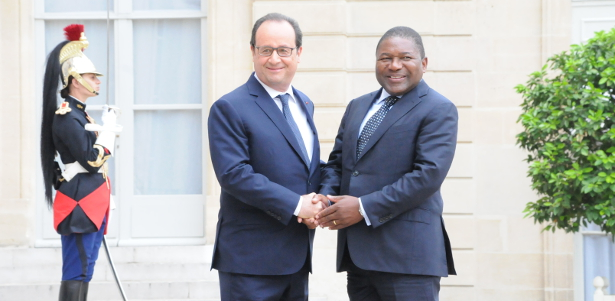 The Official visit of President Nyusi to France